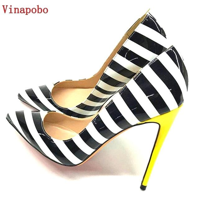 VINAPOBO 2018 New Shoes Women Zebra