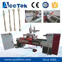 Fast speed wood lathe machine, central machinery wood lathe parts, cnc wood lathe machine price