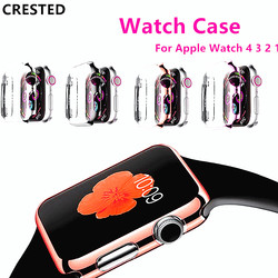 Case For Apple Watch 4 3 case 42mm 38mm iwatch band strap 44mm/40mm Screen protector cover watch Accessories