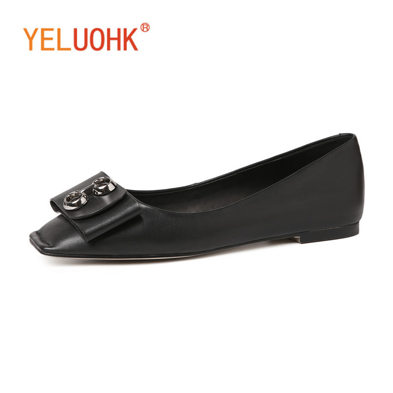 33-43 Flat Shoes Women Genuine Leather Women Loafers Slip On Moccasins Women Top Quality цена 2017