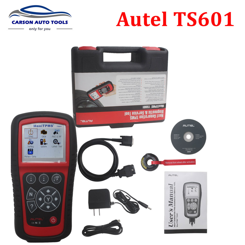 <font><b>Autel</b></font> <font><b>MaxiTPMS</b></font> <font><b>TS601</b></font> the most powerful TPMS diagnostic & service tool TPMS Relearn, Programming and Coding Tool image