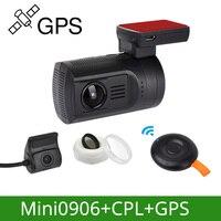 Arpenkin DVR автомобильный тире камера gps Cam Мини 0906 Новатэк 1080 P 60FPS Ultra HD цифровой видео регистраторы супер конденсатор регистратор DVR