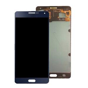 Image 2 - AMOLED لسامسونج غالاكسي A7 2015 A700 A700F A700FD شاشة LCD تعمل باللمس محول الأرقام الجمعية ل غالاكسي A7 2015 أجزاء الهاتف