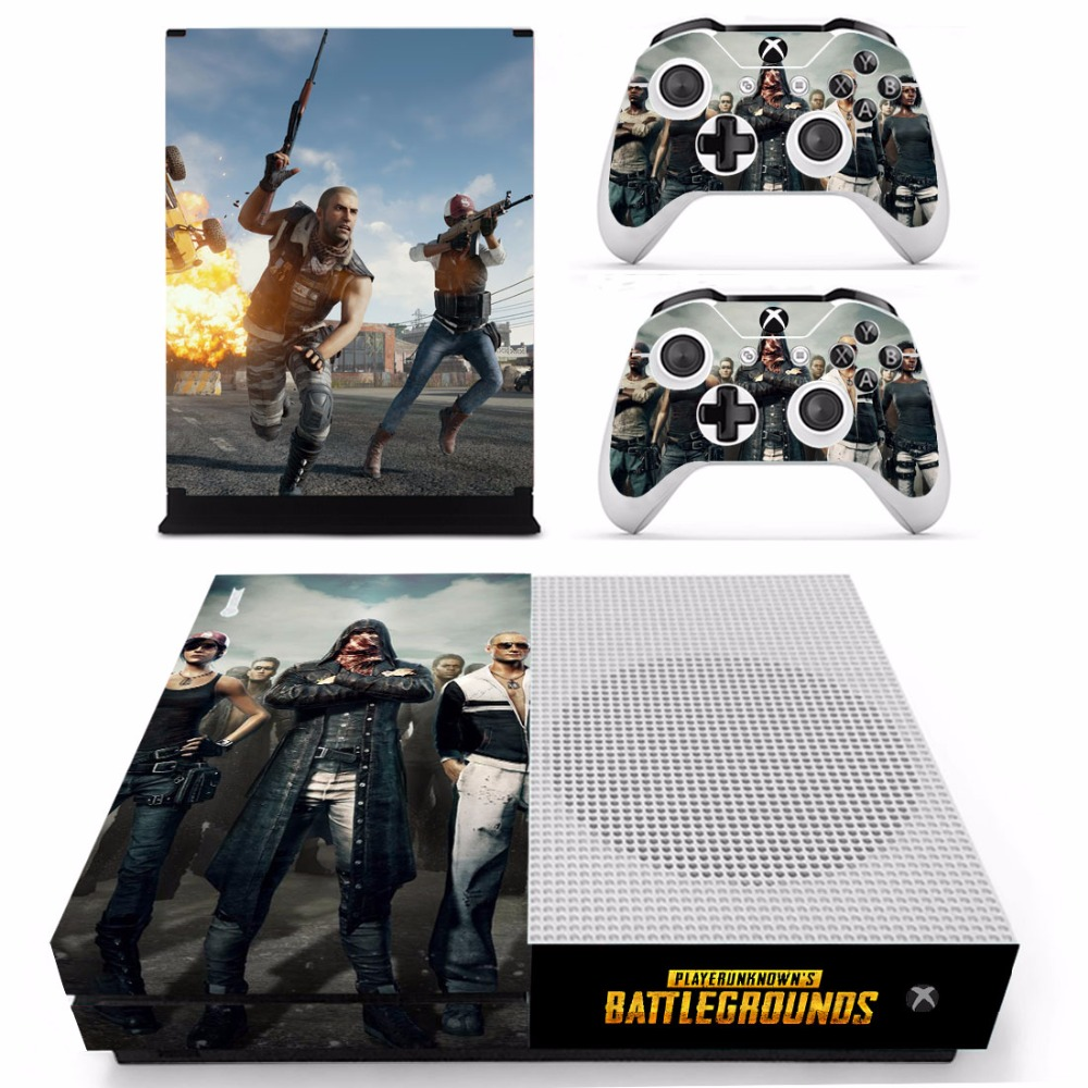 Us 854 5 Offpubg Playerunknowns Battlegrounds Skin Sticker Decal For Microsoft Xbox One S Console And 2 Controllers For Xbox One S Sticker In