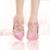 Nuevo Diseñador Punta estrecha Rhinestone Zapatos Cristalinos de la Boda de La Borla de La Correa Del Tobillo Zapatos Del Banquete Del Vestido Formal de Lujo Mujeres Prom Bombas