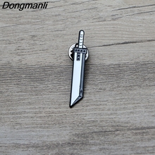 L3007 Game jewelry Final Fantasy Sword Enamel Pin for Backpack/Bag/Jeans Clothes Badge lapel pin brooch Jewelry 1pcs