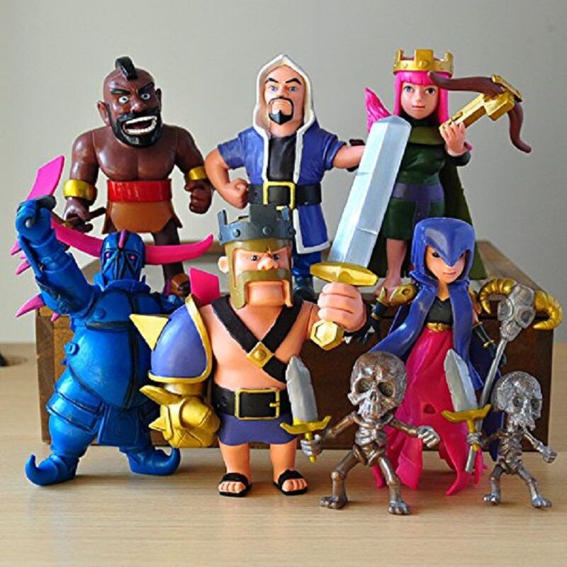 -COC-figures-12cm-Supercell-phone-game-model-Dolls-clash-royale-action-figure-8pcs-lot