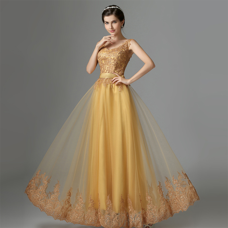 Yellow Formal Gowns