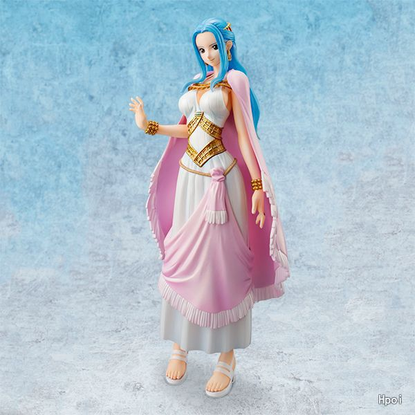 Anime ONE PIECE P.O.P DX Princess Nefeltari Vivi Two years after the new world  Action Figure Model Toys 22cm