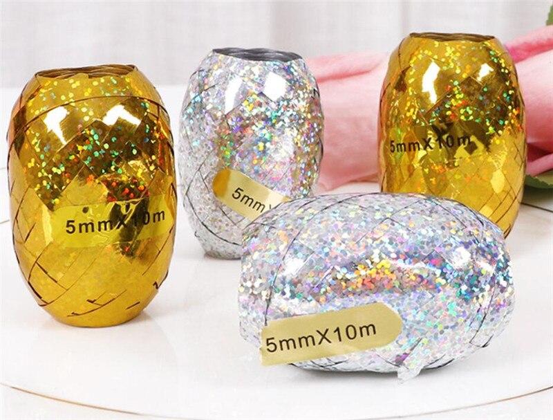 6pcs/lot  Ornament Accessories Balloon Tassels Garland Ribbon Streamers Foil Rain Curtain Background Decorations Cartoon Hat