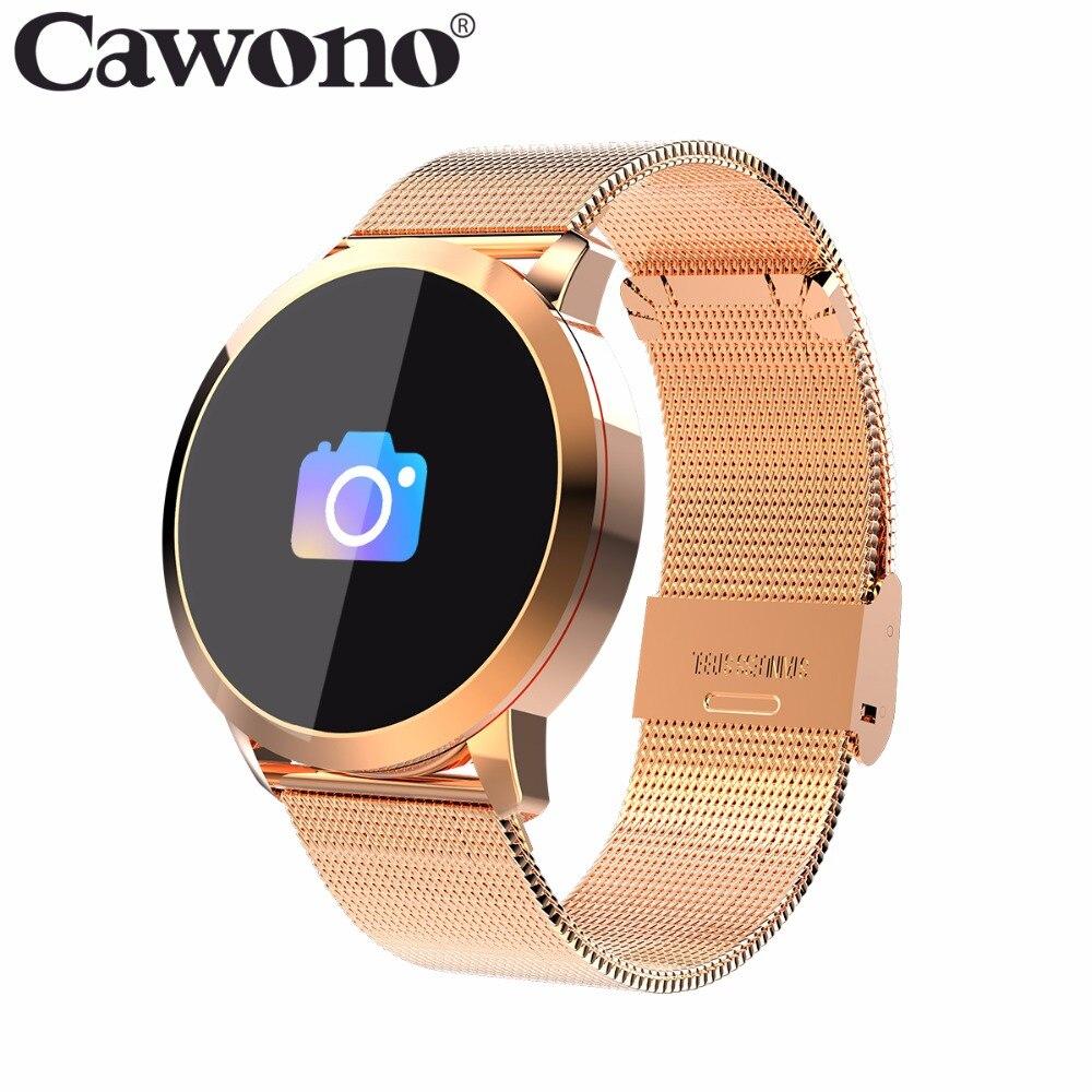 Cawono CW5 Touch Screen a Colori Smartwatch Smart Vigilanza di Sport di Fitness Donne Degli Uomini IP67 Impermeabile Wearable Devices monitor di frequenza cardiaca