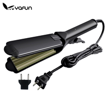Aluminum Corrugated Curling Hair Electric Hair Straightener Crimper Fluffy Small Waves Hair Curlers Curling Irons Styling Tools