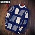 2016 Осень зима свитер мужчин пуловеры мужчины Рождество sudaderas джерси hombre marca дешевые мужской свитер