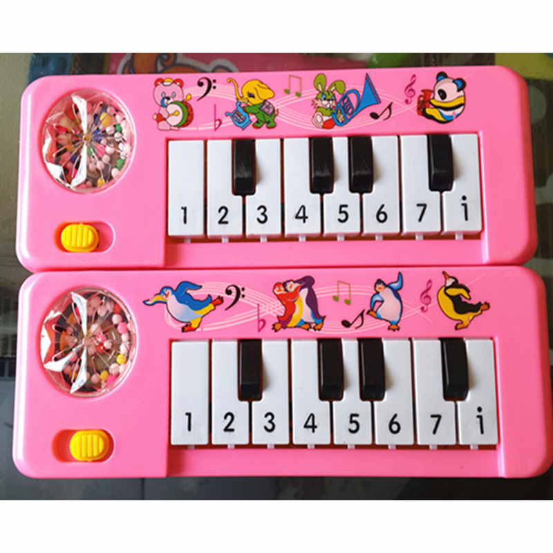 Piano Toy Musical Instrument Music Educational Gift Portable For Children Kids YH-17