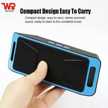 WPAIRE mini SC308 Wireless bluetooth speaker portable outdoor audio bluetooth mini speaker support TF/USB/FM radio