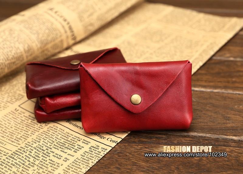 Vintage Genuine Leather Credit Card holder 19991# (9)