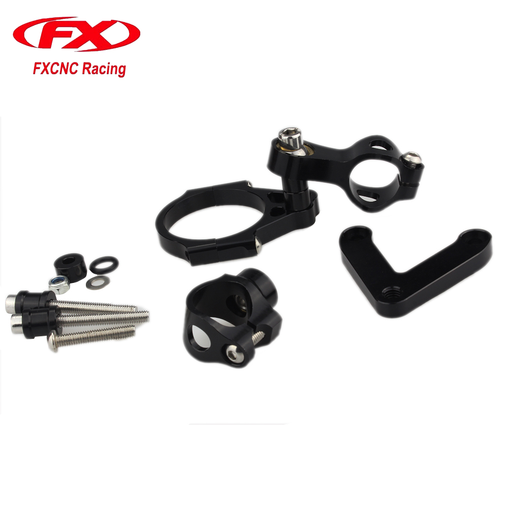 CNC Motorcycle Damper Brackert Advailable Steering Stabilize Damper Bracket Mounting Holder Kit For DUCATI 848 2008 - 2010 08 09 3 8 pt port pneumatic filter regulator air source treatment unit w gauge sfc 300