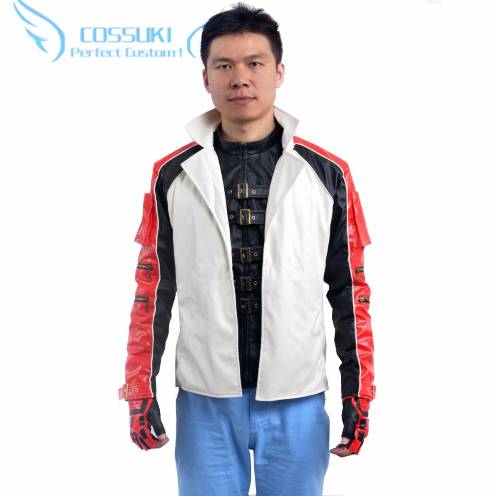 Tekken 6 LEO Uniform Cosplay Costume ,Perfect Custom For You !