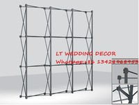 Aluminum Stand for flower Wall /Tradeshow Straight Tension Banner stand/Exhibition Display Stand/Trade Show Wall
