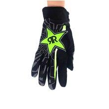 Новая мода REKTM перчатки мотоциклетные гоночные перчатки BULL полный палец противоскользящие синие