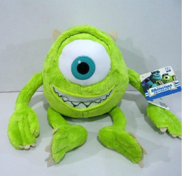 1pcs 25cm mike monsters university monster mike wazowski plush toys