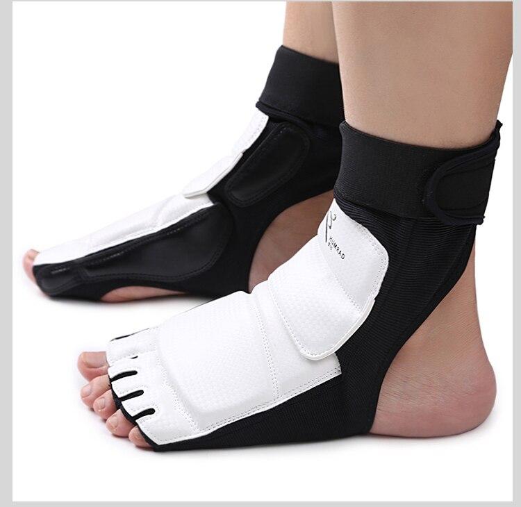 Тхэквондо ног протектор WTF КТА для взрослых детей профессионального конкурса стопы передач каратэ удары в боксе стопы Перчатки