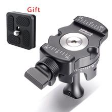 Штатив для DSLR камеры из алюминиевого сплава с шаровой головкой панорамный с Arca-swiss quick release palte as RRS для смартфона Nikon sony Canon
