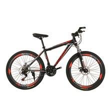AOXIN 26-inch 24 speed bmx mountain bike High carbon steel disc brake shock Adult mtb bicycle