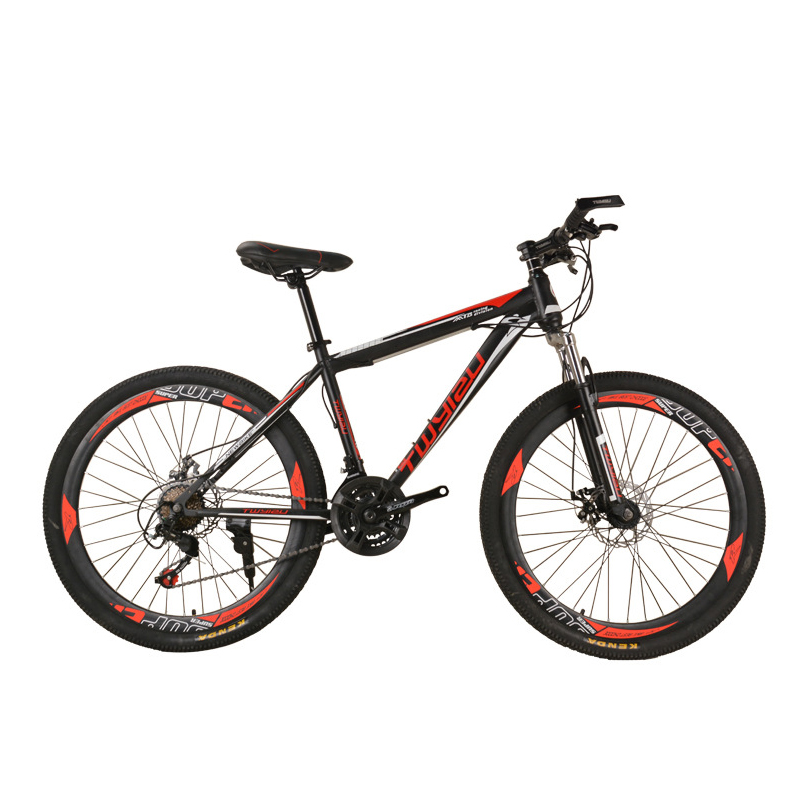 AOXIN pouces 24 vitesse bmx vtt Haute en acier au carbone frein à disque choc Adulte vtt vélo