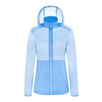 Кожаная одежда для женщин, Ультралегкая спортивная куртка, летняя Солнцезащитная одежда с защитой от ультрафиолета, верхняя одежда, новые куртки с капюшоном для бега и бега, женские куртки - Цвет: 6006 ql
