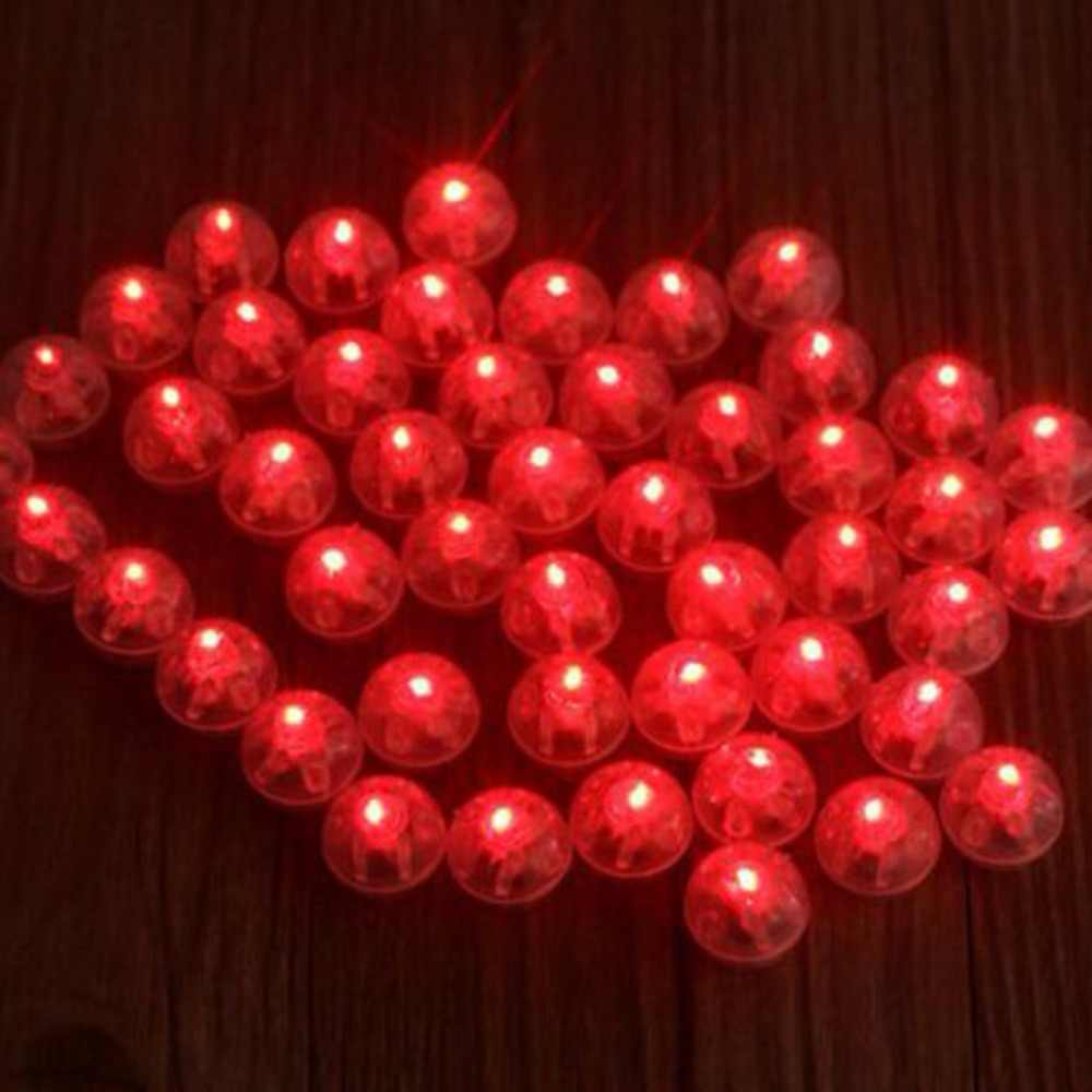 Led Christmas Lantern Wedding Light Balloon Lights Luminous Round Ball Mini Globe Flash Lamps