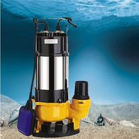 Float Switch Submersible Sewage Pump Non Clog Sewage Submersible Pump Septic Tank Pump
