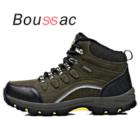 outdoor breathable men women shoes Hiking shoes high help plus velvet thickening mountain camping tourism sports shoes autumn s