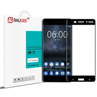 2017 Newly Raugee Tempered Glass For 5 5inch Nokia 6 Smart Phone 9H Anti Explosion Full