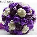 Брошь свадебные букеты букет невесты свадьба искусственные цветы свадебные букеты кристалл свадебные букеты Buque де Noiva WF011