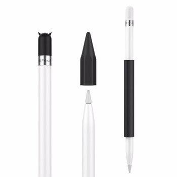Держатель для карандашей для Apple Pencil Магнитный силиконовый держатель для карандашей Grip Sleeve чехол с крышкой для iPad9.7 2018 Pro Pencil