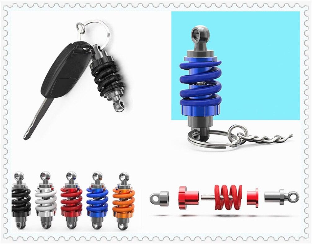 Key Rings Interior Accessories Motorcycle Shape Keychain Model Pendant Ornament Car Hook For Tesla Suzuki Isuzu Daihatsu Aston Martin Volvo Mazda