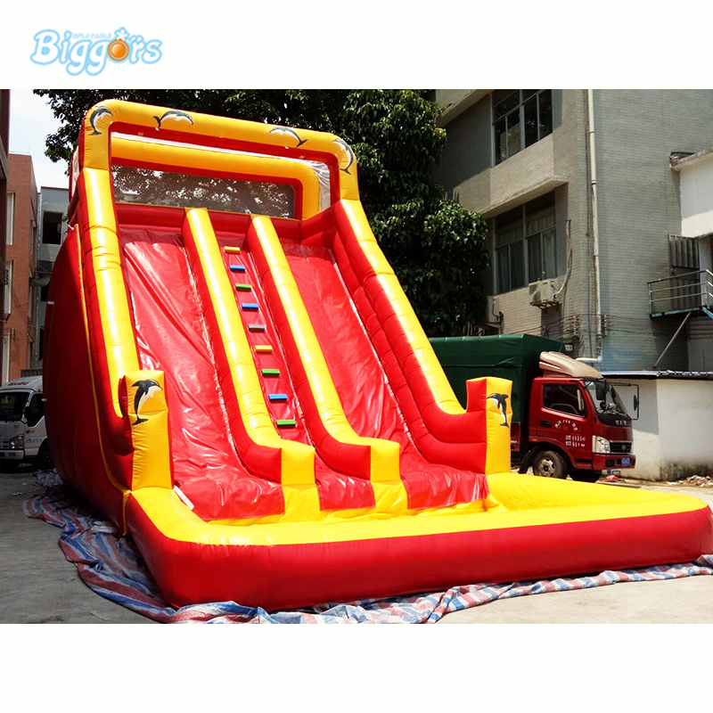 Giant Dual Lane Kids And Adult Water Slide Inflatable Water Slide Pool Backyard Inflatable Water Slides factory price inflatable backyard water slide pool water park slides pool slide with blower for sale page 5