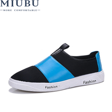 MIUBU Top Quality Sumemr Mens Casual Shoes Man Canvas Big Size Fashion Men Loafers Breathable