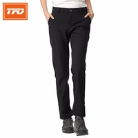 TFO Softshell Pants Women Breathable Sport Pan Windproof Ski Trousers Softshell Fleece Pants 774502