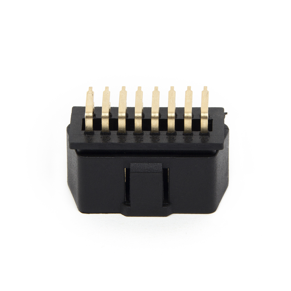 KWOKKER OBD2 OBDII J1962 Male Connector Plug Wiring for Diagnostic Tool 16 PIN DIY Shell
