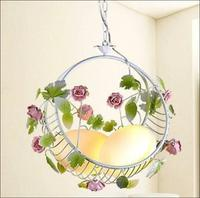New Modern Dragon eggs rose princess bedroom lamps and lanterns porch lights creative flower basket children lamp ZL382