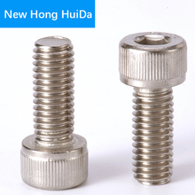 цена на DIN912 Hex Head Socket Cap Screws Hexagon Thread Metric Machine Allen Bolt 304 Stainless Steel M8