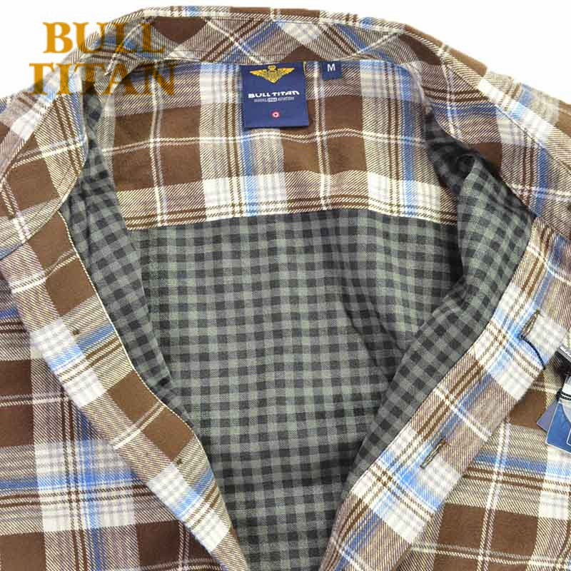 365cd5d58e3 New brand mens winter shirt long sleeve double layer plaid shirt for Autum  and winter shirts keep warm dress shirt-in Casual Shirts from Men's  Clothing on ...