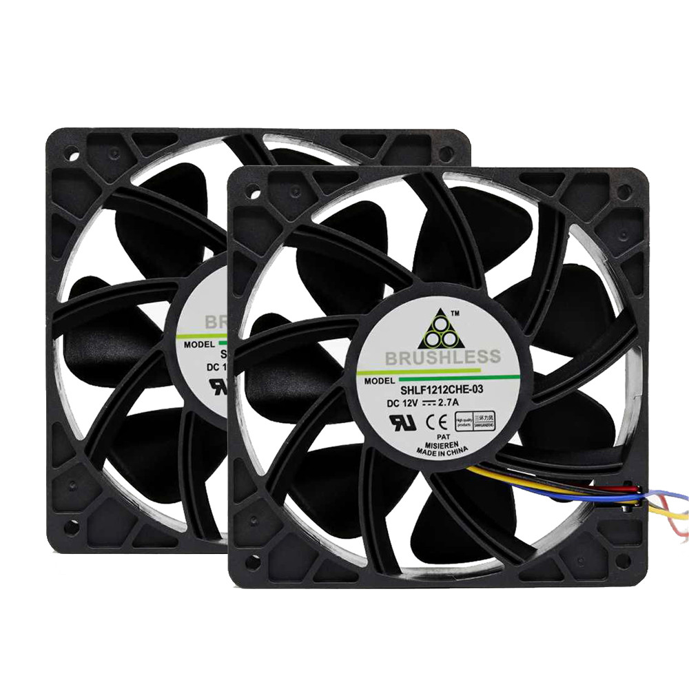 7000RPM Cooling Fan Replacement 4-pin Connector For Antminer Bitmain S7 S9