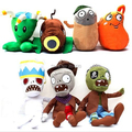PLANTS vs. ZOMBIES 2 Soft Plush Dolls Stuffed Toy Kids Xmas Birthday Gifts 7pcs/pack