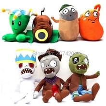 PLANTS vs. ZOMBIES 2 Soft Plush Dolls Stuffed Toy Kids Xmas Birthday Gifts 7pcs/pack