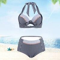 2019 Sexy Plus size Swimming Suit For Women Swimsuit Bikini Push Up Monokini Swimsuits Bath Suit 2 Pieces Maillot De Bain Femme