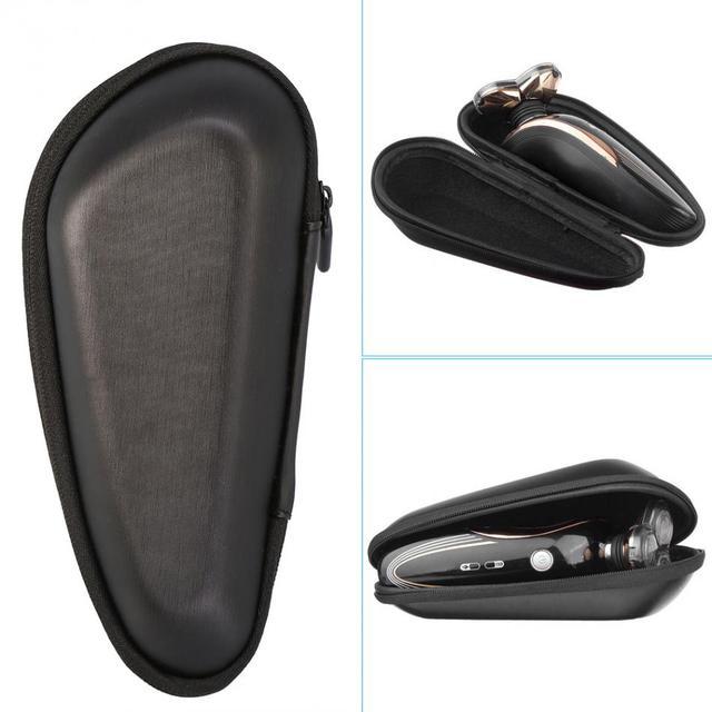 827dc75fc02 Portátil Saco de Proteção EVA Homens Barbeador Elétrico Bolsa de Viagem  Carry Case Caixa de Armazenamento