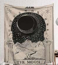 Cammitever psychedelic tapeçaria de parede pendurado boêmio mandala tapeçarias decoração da casa poliéster qualidade tecido decoração da parede casa